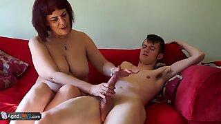 AgedLovE Horny Grannies Hardcore Sex Compilation