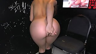 Sucking cocks gives horny honey great passion