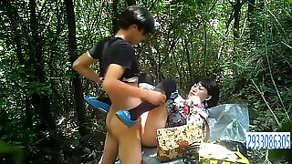 Chubby Asian Prostitute In Stockings Gets Fucked Bareback