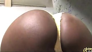 Black girl gloryhole interracial cock sucking 25