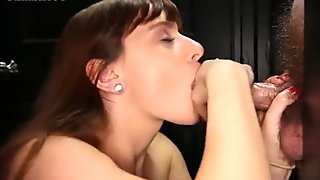 4 different Gloryhole girls sucking off strangers