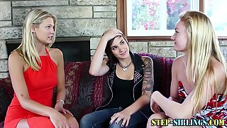 Stepteen tongued in 3way