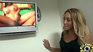 Nice and hot interracial blowjob video 3