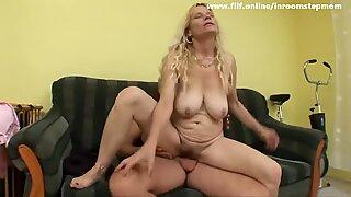 Sexy Step Mom Courtney Fucks Son