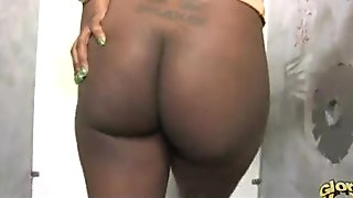 Black girl gloryhole interracial blowjob 34