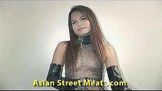 Thai Slapper On The Sofa