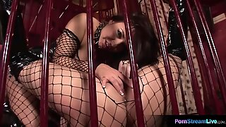 Maria Bellucci and Mandy Bright getting down and dirty