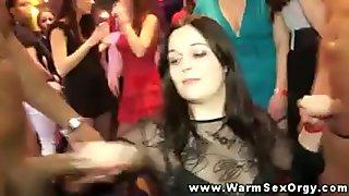Amateur sluts at real party sucking