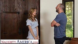 Naughty America Anya Olsen seduces her friend's dad