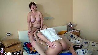 OldNanny Old mature with young mature