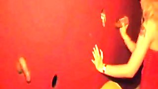 Beautiful golden-haired visits a gloryhole HClips - Private .mp4