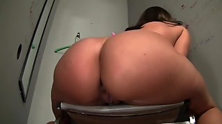 Kelly Divine Gags On A Big Cock