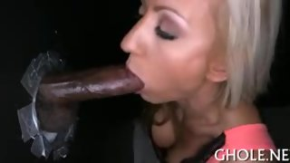 Having a cock inside her mouth makes honey very wet