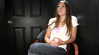Gloryhole Secrets Starla loves mouthfuls of cum