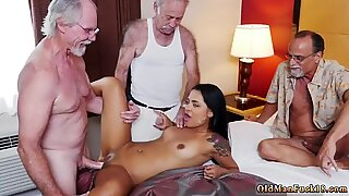 Old mature Staycation with a Latin Hottie - Nikki Kay