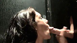 Toilet Glory Hole Sex Hot Dirty Slut