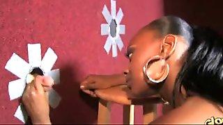 MyHotGloryhole.com - Interracial cock gloryhole sucking - video 7